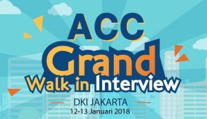 ACC Grand – Walk in Interview