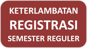 Keputusan Direktur Mengenai Registrasi Semester Reguler Semester Ganjil 2018/2019