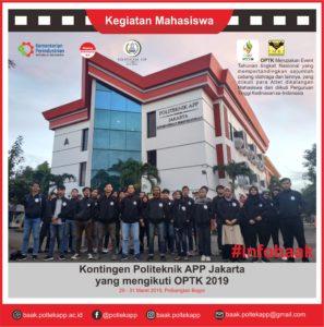OPTK 2019 Politeknik APP Jakarta