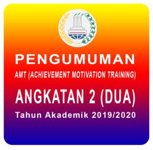 Pengumuman AMT Angkatan 2-2019