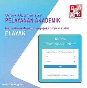 ELAYAK – Optimalisasi Pelayanan Akademik
